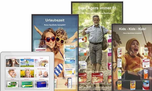 Mobile Touch in der Burg Apotheke Volkmarsen