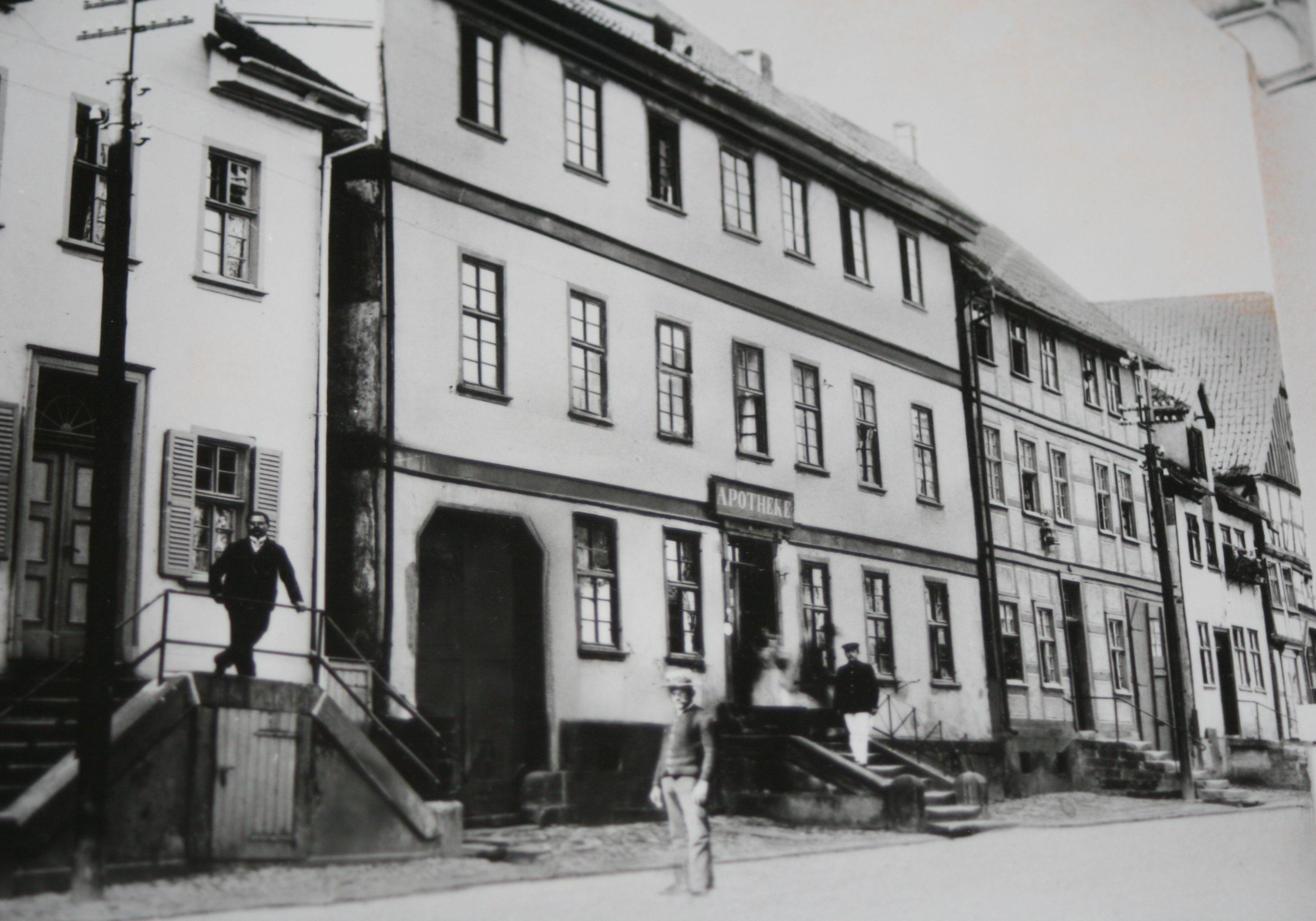 Historische Ansicht der Burg Apotheke Volkmarsen